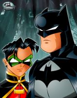 Batman and Robin by TonyForever
