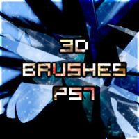 3d brushes by Argent-Shadow