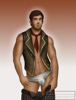 Commission: Booker Dewitt by headingsouth