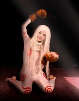Shiro Deadman wonderland Cosplay by Dishfire