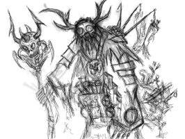 witch doctor by MortarPsycho
