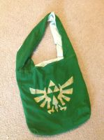 Legend of Zelda Inspired Hobo Bag by Raychull7