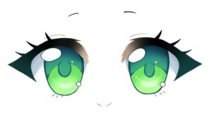 How to Draw Chibi Eyes VIDEO TUTORIAL by shock777