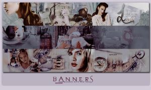 BANNERS new things by saylorgirl