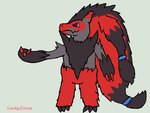 Mega Showdown: Mega Zoroark by LuckyZorua