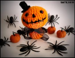 .:Mister Halloween:. amigurumi by SaMtRoNiKa
