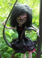 Monster High Cheshire Cat Custom 'Malice' by AdeCiroDesigns