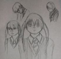 Maka Alburn sketches by Colliequest