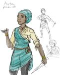 Auta- new pirate character by Captain-Savvy