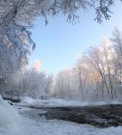 sunshine and winter by KariLiimatainen