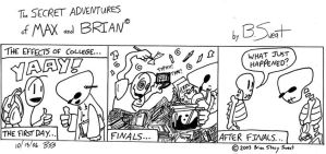 Max and Brian - Matriculation by venkman3000