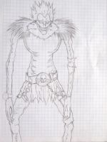 Riuk Death Note (sketch) by agarest-of-war