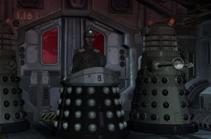 Davros Duty by android65mar