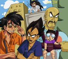 DBZ- The Hangover by FrontierComics