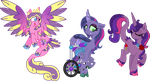 The Royal Trio Unique Style by StarryOak