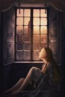 Looking at the Window by byback92