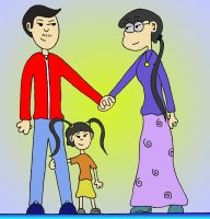 Family Portrait 2: The Rsus by Russotrot