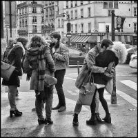 Paris, 2015... all you need is love ! by SUDOR