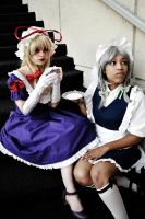 Touhou: Definitely Not Friends by Meari-chan
