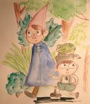Over the garden wall by KiKaKoShnitzel3