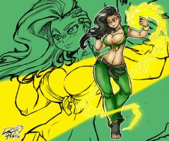 Laura Matsuda by DragoonTequila