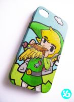 LoZ Link iPhone Case by Viagraphics