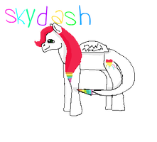 Skydash -REQUEST- by FluffehSabex