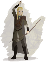 Legolas by Linphine