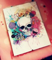 skull 'n candy by BarbieSpitzmuller