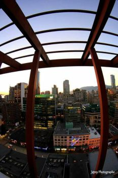 fish eye at Vancouver  by MissJanyPic