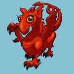 Welsh Dragon by NoodleWings