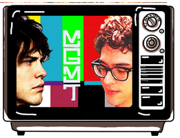 MGMT IN A TV by isamadworld52