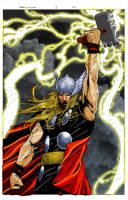 THOR colors by TMD by DONAHUE-t