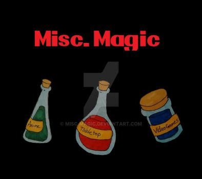 Misc. Magic Logo Attempt 1 by Misc-Magic