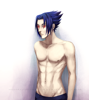 2 sexy for my shirt - Sasuke by momijigirl