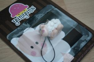 sheep keyring by elainewhy