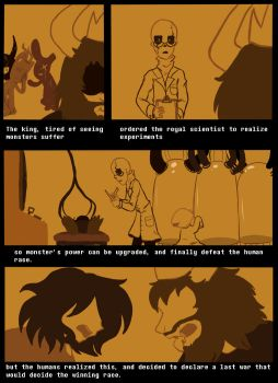 Bad Time Tale Comic - Page 2 by mikathelemur