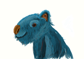 blue wombat? by chickenmobile