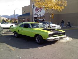 Green Mopar by KateKannibal