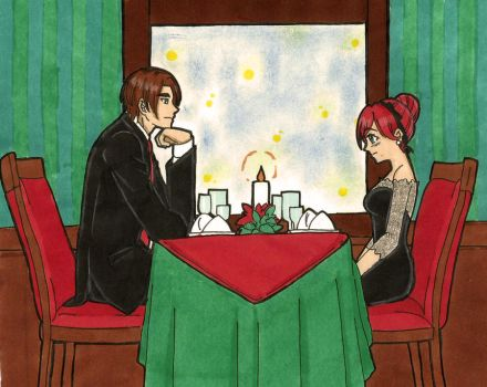 Leon and Claire : dinner for two by LeonandClaireBSAA