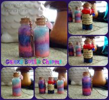 Galaxy Bottle Charms by Insane-Oasis