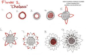How to draw Paisley Flower 02 Chelsea by Quaddles-Roost