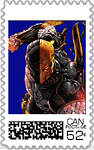 Deathstroke Postage Stamp 2 by WOLFBLADE111