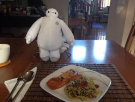 Baymax and a Balanced Meal by WarriorNun