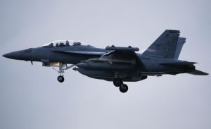 Boeing EA-18G Growler Armed by shelbs2