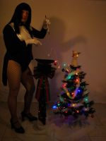 Merry Magic Christmas Zatanna Style by doctorderanged
