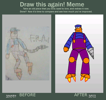 Draw This Again Meme by MrPr1993