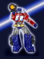Optimus Prime by moltres93