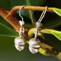 Acorn Charm Earrings by AelisLaurel