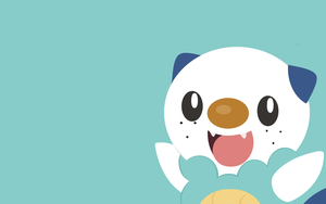 Oshawott Wallpaper by Banana-Bear